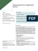 Intubacion Endotraqueal Prehospitalaria