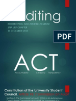 Auditing by Angelo Karl Doceo