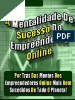 A Mentalidade de Sucesso Do Empreendedor Online