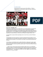 Saban's Alabama Defense - Cover 1