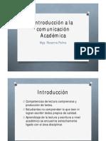 7 Abril 2014_ Introducción a la comunicación Académica
