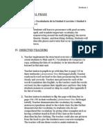 instructional phase