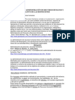 DEFINICIONES DE ADMINISTRACIÓN DE RECURSOS HUMANOS Y CUADRO COMPARATIVO DE LAS DEFINICIONES.docx