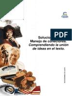 Solucionario Clase 2 guía Manejo de conectores comprendiendo la union de ideas en el texto 2014