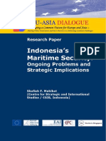 Indonesias Maritime Security Ongoing Problems and Strategic Implications