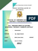 Informe i - Automatizacion-Arranque Directo Motores 1 , 3 y Dc