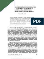 6. LA METAFÍSICA DE PORFIRIO COMO MEDIACIÓN ENTRE LA «HENOLOGÍA» PLATÓNICA Y ..., GIUSEPPE GIRGENTI
