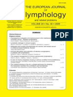 Lymphomyosot - A Prospective Evaluation of Lymphomyosot in the Maintenance Treatment of Breast Cancer