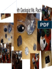 rocks with geologist ms