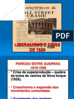 1-Liberalismo e Crise de 1929