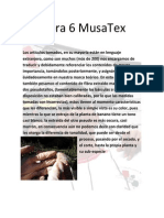 Bitácora 6 MusaTex