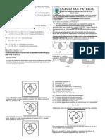 Guía de operaciones entre conjuntos grado 11 san patricio