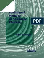 Variational Methods in Nonlinear Elasticity