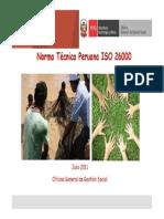 PPT Responsabilidad Social - IsO 26000