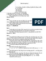 Bài tập tổng hợp triết 2 có đáp án