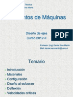 El Maq 2012 II Clase Ejes