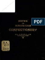 Notes on American Confectionery (1891)