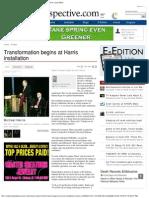 Transformation Begins at Chancellor Michael Harris Installation, פרופסור וצ'נסלור מייקל הריס