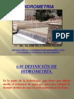Cap VI Hidrometria