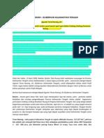 Buletin TATA RUANG. Edisi Maret 2008. Setahun Pelaksanaan Undang Undang Penataan Ruang