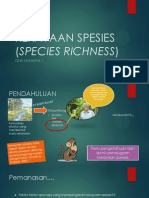 Kekayaan Spesies (Species Richness)Add