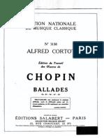 Chopin Ballade1 Cortot