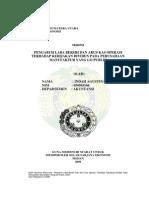 16. Pengaruh Laba Bersih Dan Arus Kas Operasi Terhadap Kebijakan Dividen Pada Perusahaan Manufaktur Yang Go Publik