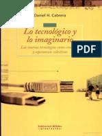 Lo Tecnologico y Lo Imaginario de Cabrera