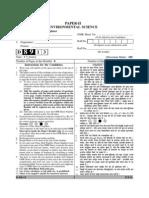 Ugc Net-II Paper Environmental Science