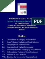 Lecture 3 Stocks