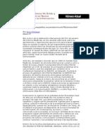 El Rescate del Informe Mc Bride y la Construcción de un Nuevo Orden Mundial de la Información