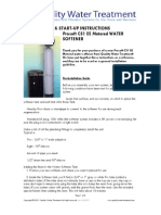 Installation Guide Prosoft CS1EE Water Softener Rev8.2.2011