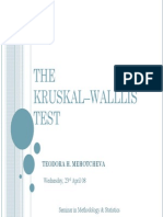 Mehotcheva 2008 Kruskal Wallis