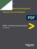 Capcitance Switching With Vacuum Circuit Breaker