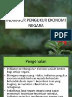 Indikator Pengukur Ekonomi Negara