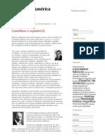 Castellano o español (I) | Español de AméricaEspañol de América.pdf