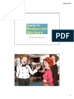 RestaurantWorkers INTRODUCTION