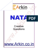 NATA Creative Question Bank