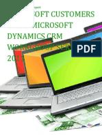 Microsoft Customers using Microsoft Dynamics CRM Workgroup Server 2011 - Sales Intelligence™ Report