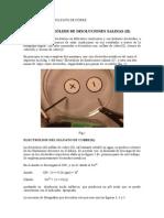 Electrolisis Del Sulfato de Cobre