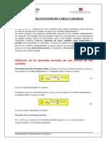 Derivadas Parciales 2013-1
