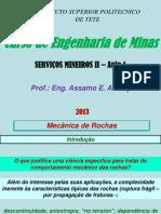Servicos Mineiros II Aula 1 2013