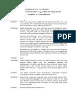 Buletin TATA RUANG. Edisi januari-Februari 2009. Tata Ruang dan Pemanasan Global