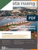 Buletin TATA RUANG. Edisi Maret-April 2010. Pembangunan Kelautan Berbasis Penataan Ruang.