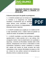 Posição ANAPS sobre Portaria n.º 82-2014, 10.abr.2014