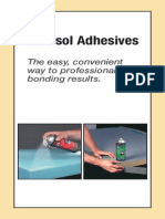 Aerosol Adhesives Lit