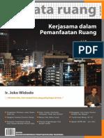 Buletin TATA RUANG. Edisi Mei-Juni 2010. Kerjasama dalam Pemanfaatan Ruang