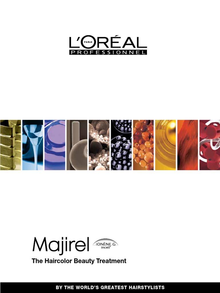 Majirel color charthair color allergy green nvjuhfo Choice Image