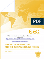Military Modernization and the Russian Ground Forces