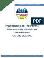 Presentazione Del Programma_OK (Consegna Comune)